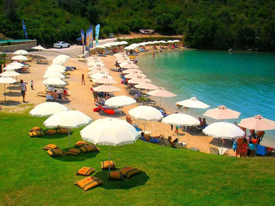 karvouno beach sivota ionion luxury boat rentals