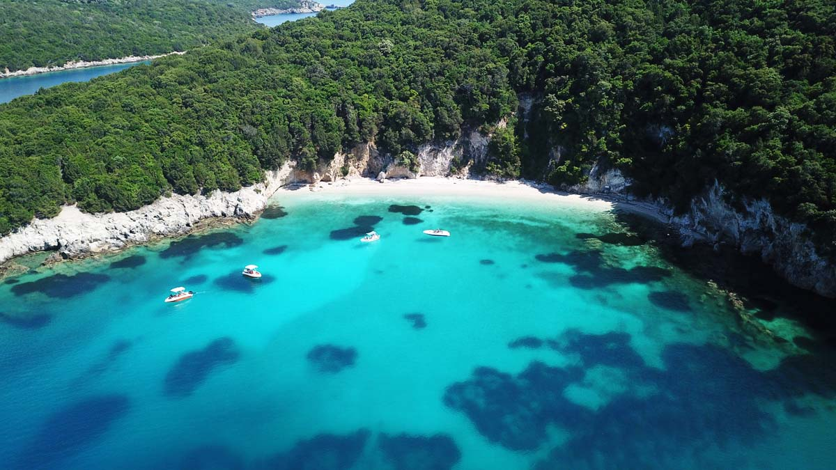 sivota boat rentals ionion luxury boat beach 2